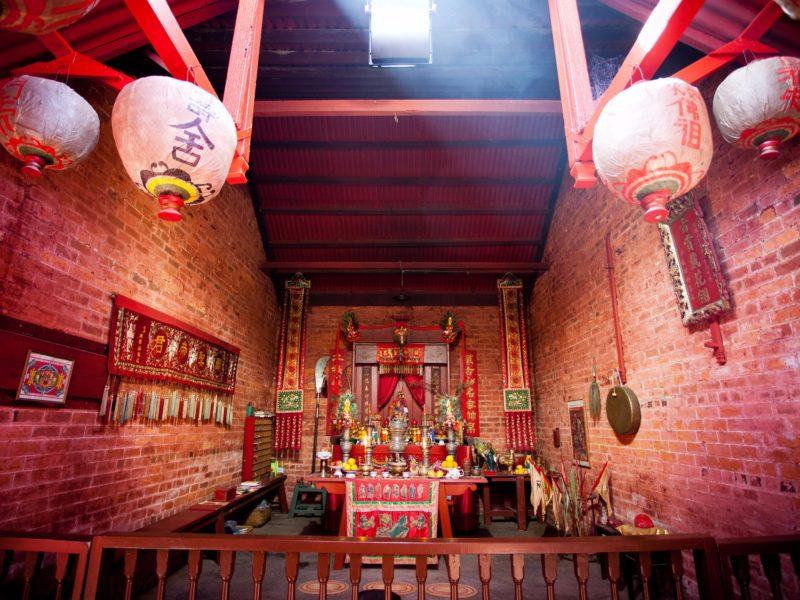 Bendigo Joss House Temple Main Altar