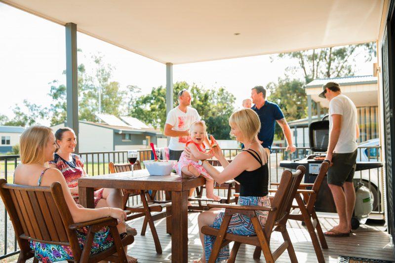 BIG4 Bendigo Marong Holiday Park cabin accommodation