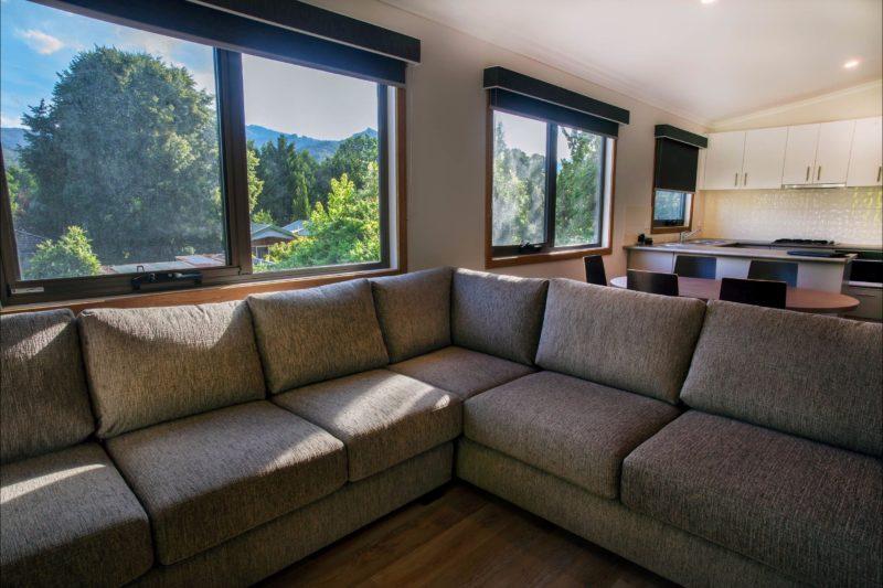Luxury Mountain View Spa Villa interior
