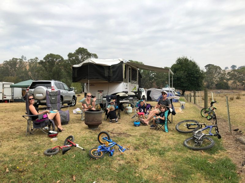 Unpowered Camping