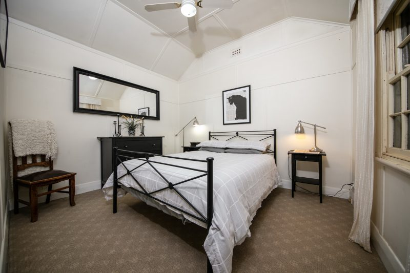 Black Cat Cottage and Truffles Master Bedroom