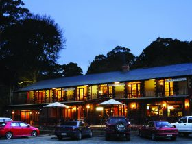 Black Spur Inn at Dusk