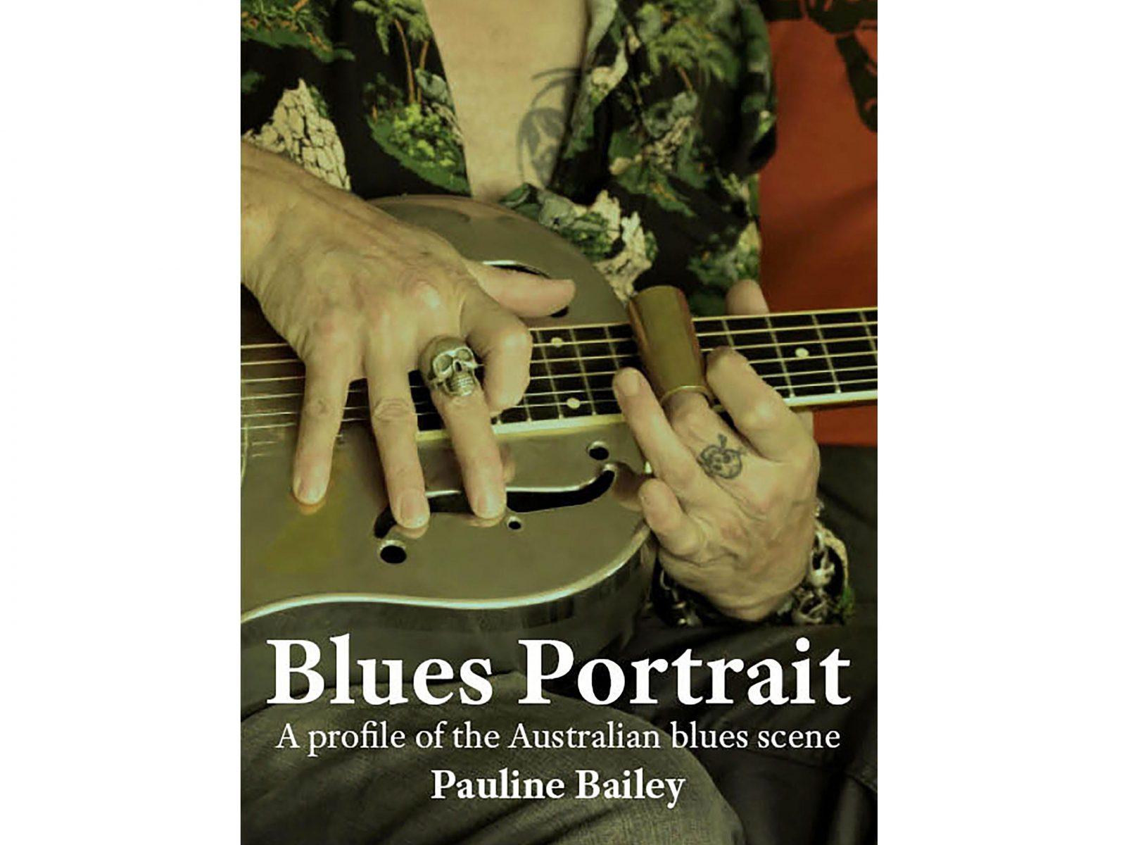 Blues Portrait - A profile of the Australian blues scene_Front cover
