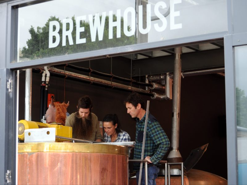 Learning to brew at Bright Brewery