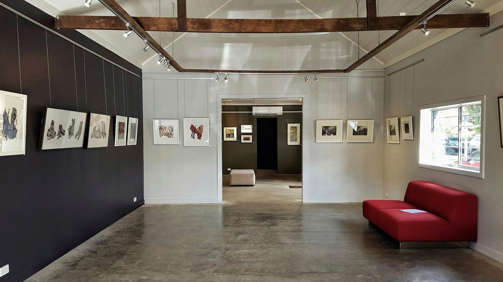 Briagolong Art Gallery interior North Gallery