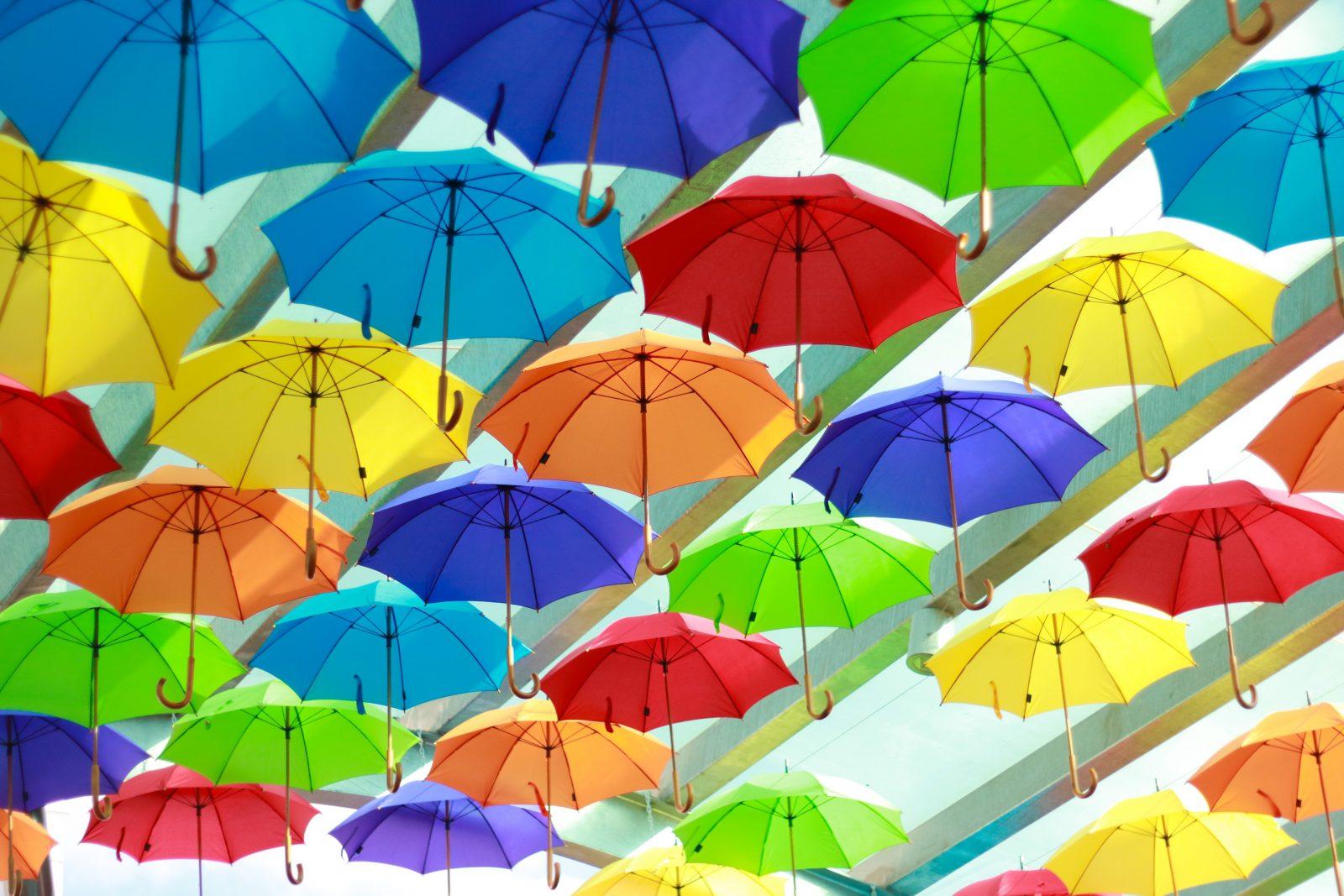 Bridge Mall Umbrella Canopy