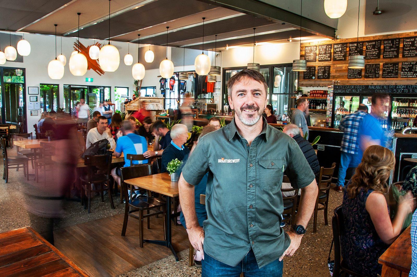 Bright Brewery founder Scott Brandon