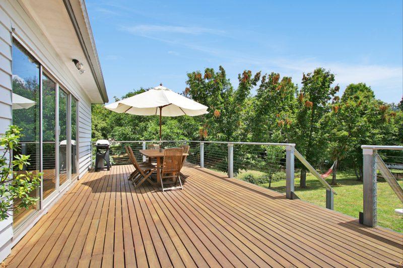 Sunny Deck at Clara Luce