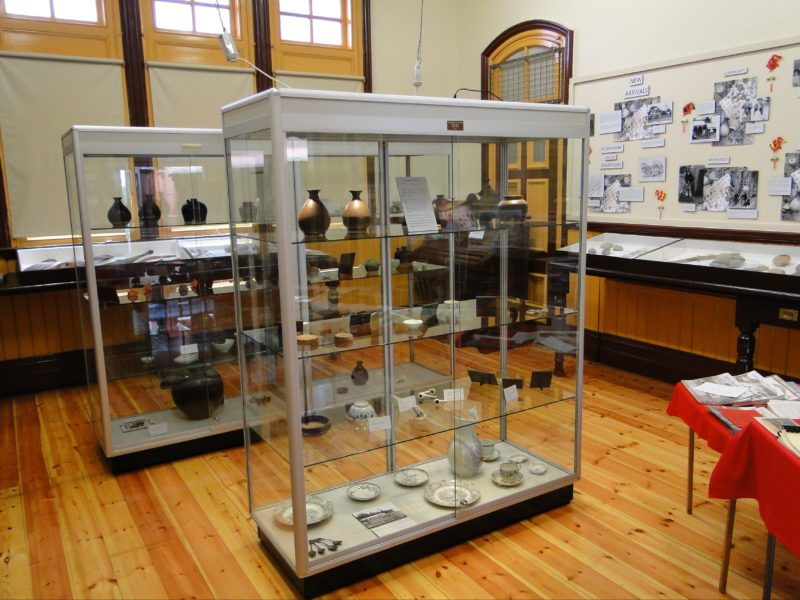 Display in Former Station Master's office