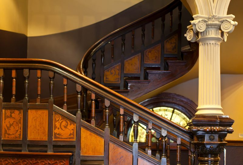 Staircase at Bundoora Homestead