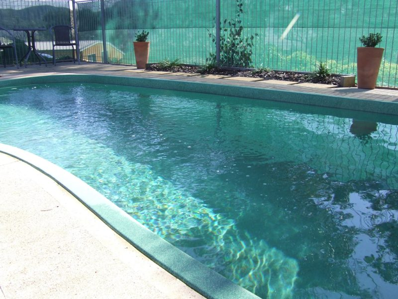 Cool off in the pool during the summer months