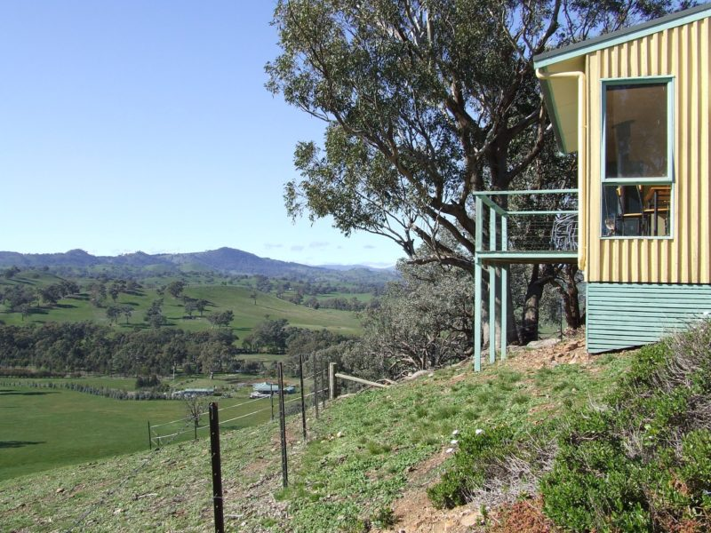 All cottages have their very own private elevated balcony with spectacular views