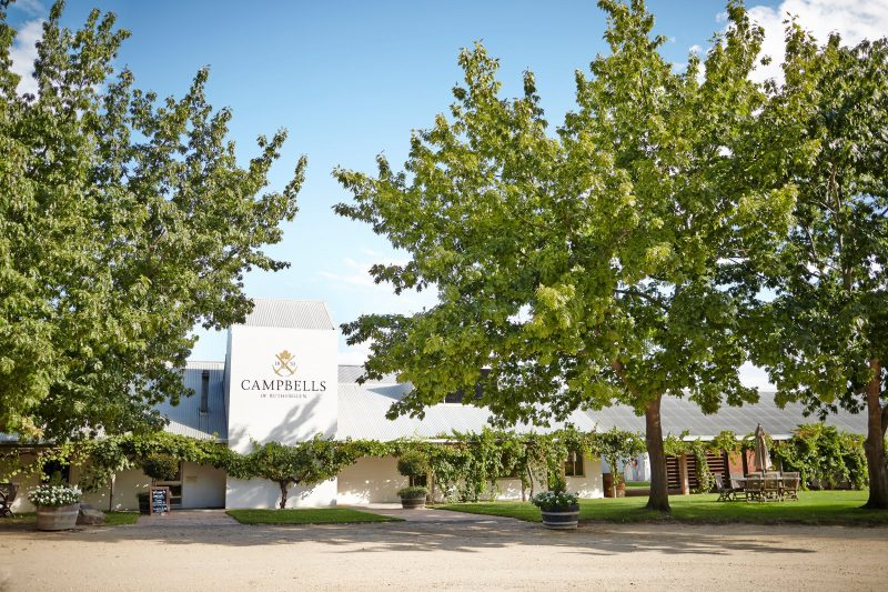 Campbells Wines Frontage