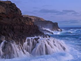 The Blow Holes and Petrified Forrest Cape Bridgewater