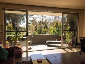 Lounge room and balcony aspect