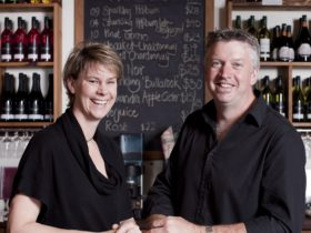 Meet the owners Carolyn and Doug May