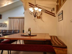 Dining Table at Cawarra Ski Club Mt Buller Accommodation