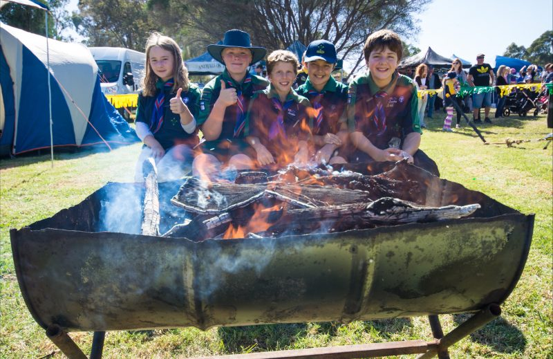 Many local community groups will be there including Mooroolbark Scouts with their rope bridge