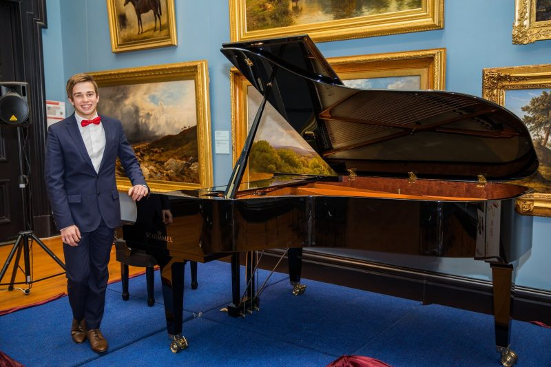 The Schimmel Grand Piano at Celebrating Chopin - Ethan McCray of Horsham