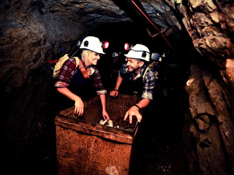 Central Deborah Gold Mine - Nine Levels of Darkness