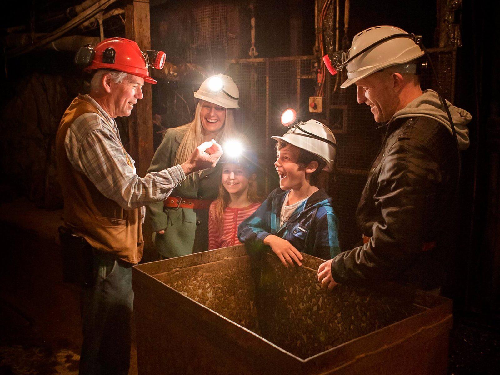 Central Deborah Gold Mine - Mine Experience Tour