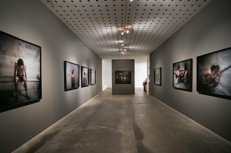 Hoda Afshar exhibiton documentation Behold 2017