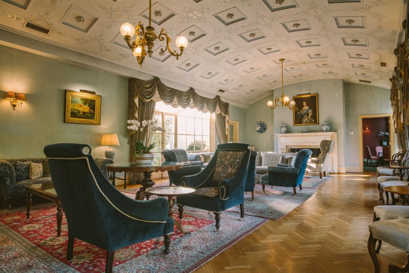 Drawing Room of Chateau Yering Hotel