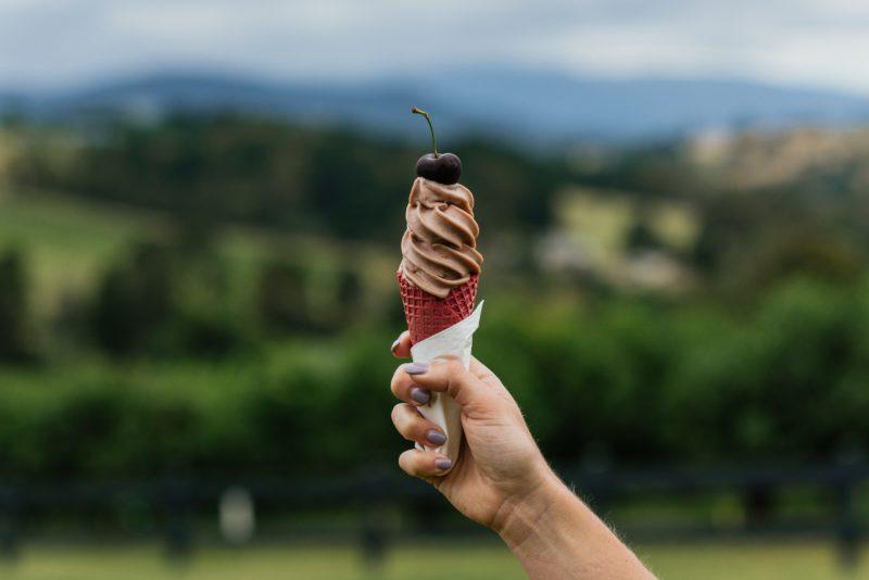 cherry ice-cream