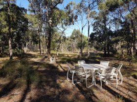 Picture yourself in the middle of Australian Bush having a picnic or cheese platter while camping