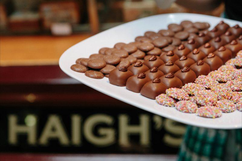 Haigh's chocolate tastings