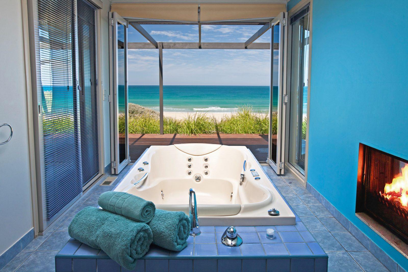 Spa Bath of Seafront Villas