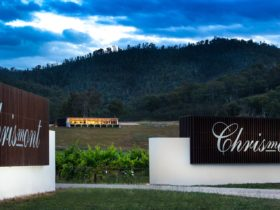 Entrance to the Chrismont estate