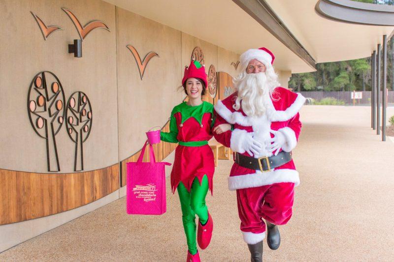Santa and Miss Elf