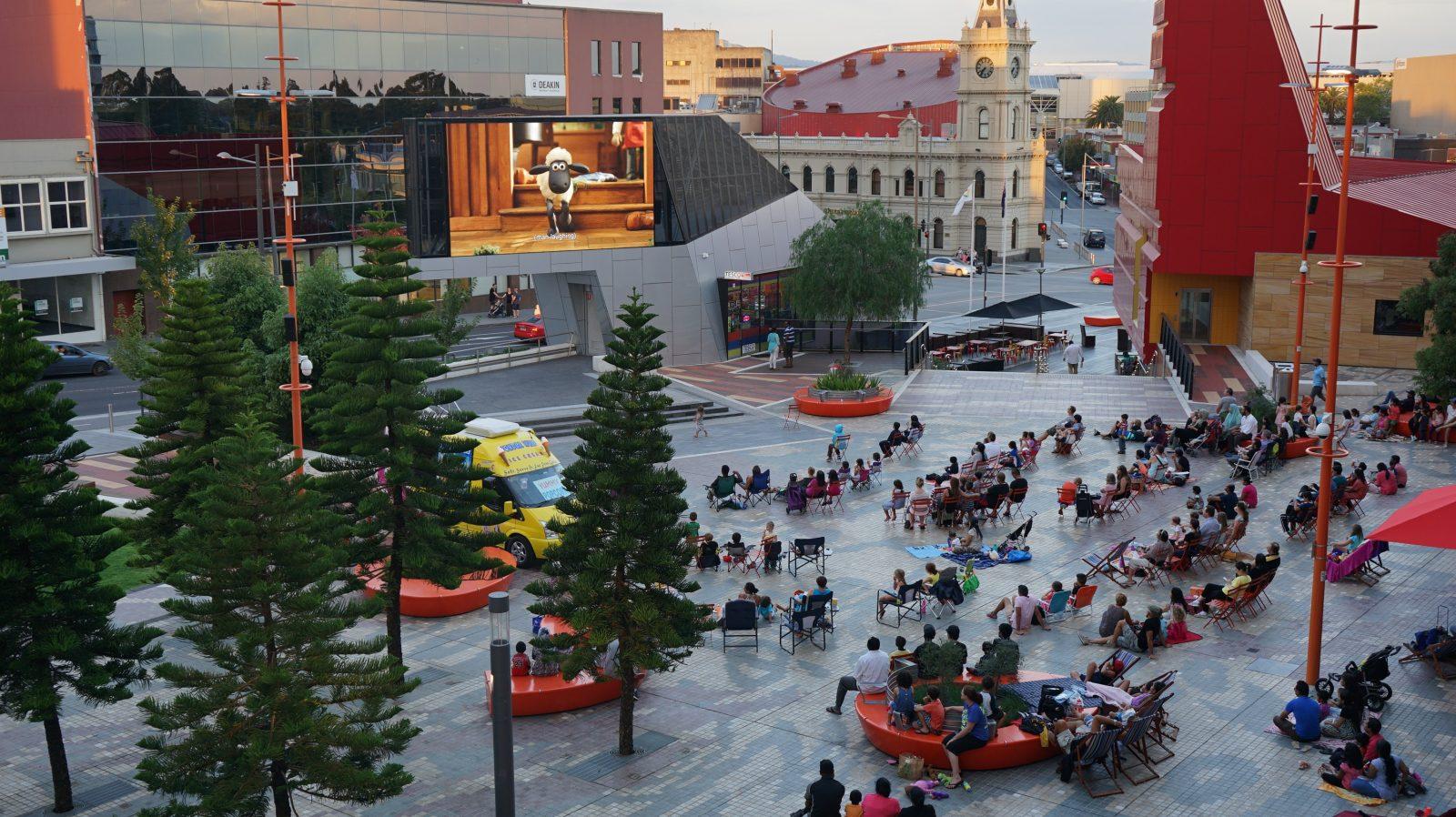 Cinema in the Square