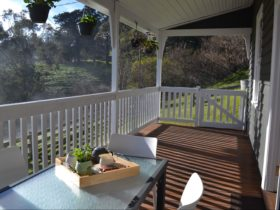 Clifden Cottage verandah