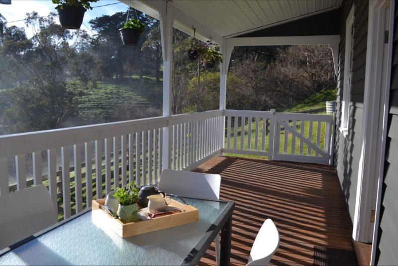 Clifden Cottage verandah