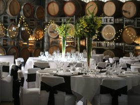 Cofield Wines and The Pickled Sisters Cafe are a popular wedding venue