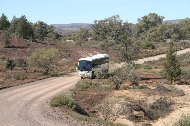 A stop in the outback