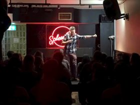 Dave Hughes is just one of the many big names who drops in secretly to Comedy at Spleen!