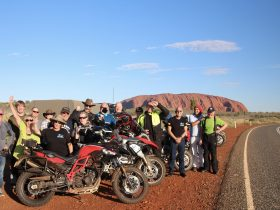 Uluru features on a number of Compass Expeditions tours
