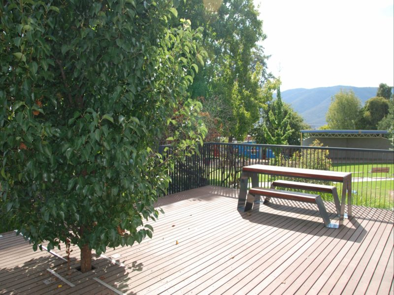 Deck, Corryong Visitor Information Centre
