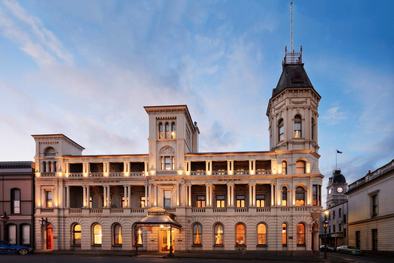 Craig's Royal Hotel - an iconic Australian heritage hotel restored to magnificent condition