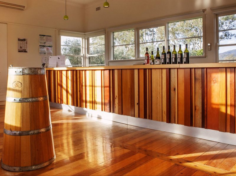 Our light filled Cellar Door welcomes guests every day.