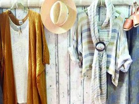 Beautiful image of assorted clothing