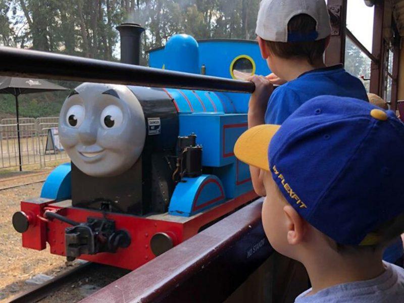 Thomas at Puffing Billy 2