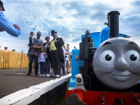 Thomas at The Bellarine Railway Queenscliff