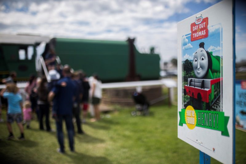 Henry at the Day out with Thomas event