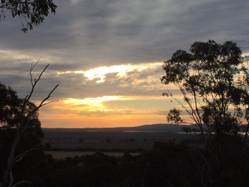 Sunset at Days' Lookout