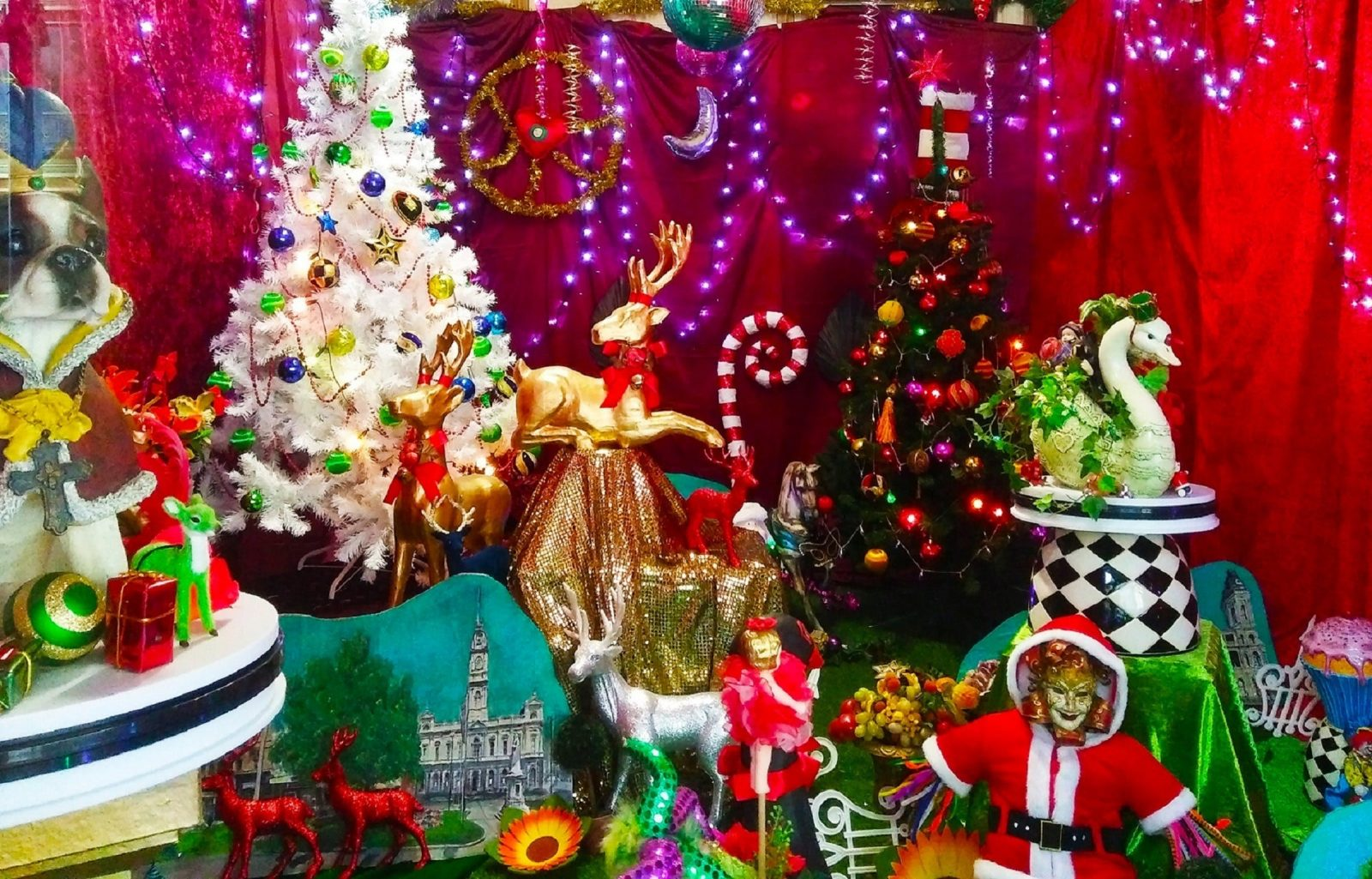 12 Days of Christmas Windows