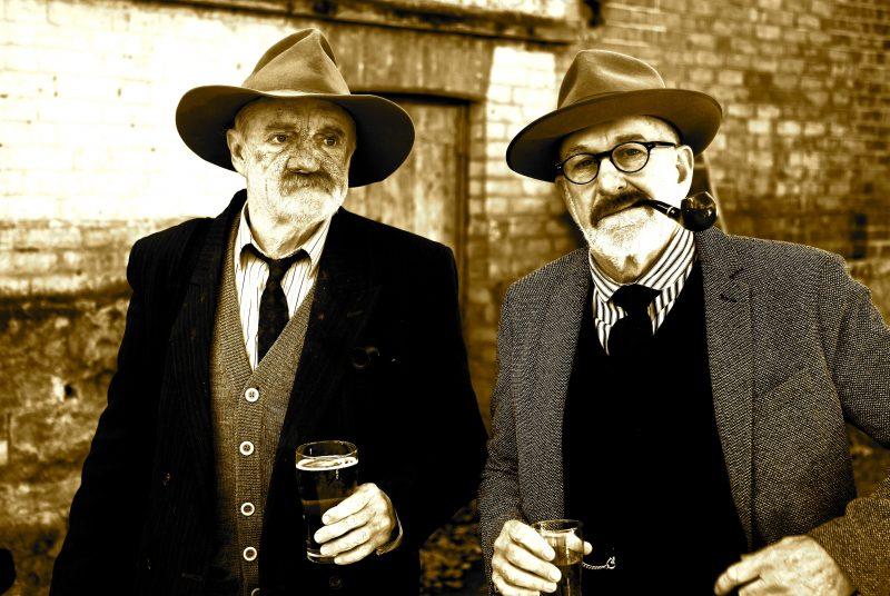 "Dead Men Talking ""Cullen & Fahey joyfully bring Lawson & Banjo alive"" Melb Age"